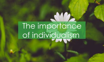 The importance of individualism