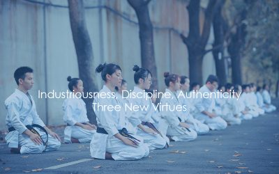 Industriousness, Discipline, Authenticity – Three New Virtues