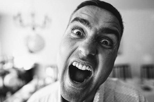 dangers oversimplified   man yelling