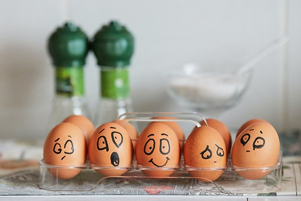 Emotional Control | Eggs With Faces