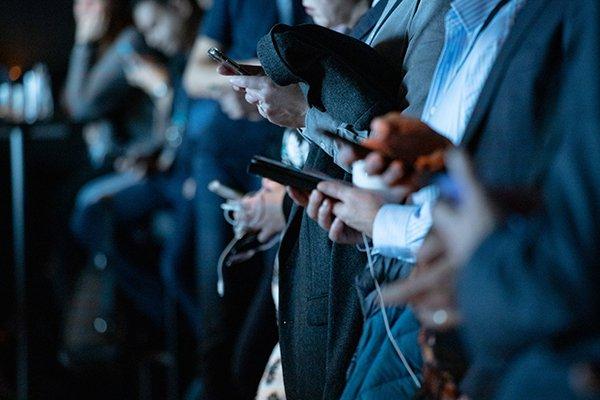 Media   People Looking At Their Phones