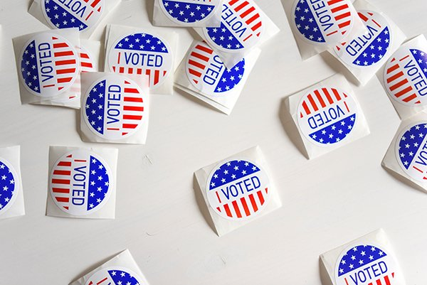 vote | I voted stickers