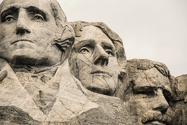 respect the past | Mount Rushmore