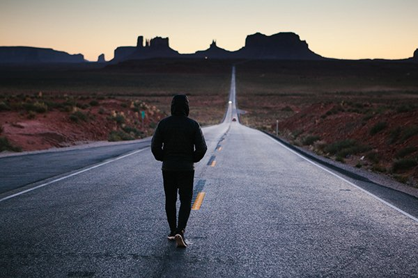 walk away | Man walking