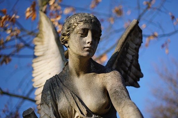 Angel | Angel At Graveyard | Memento Mori