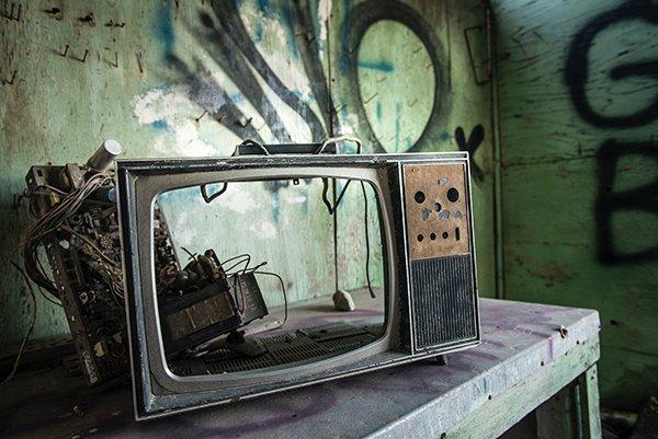 avoid media | broken tv