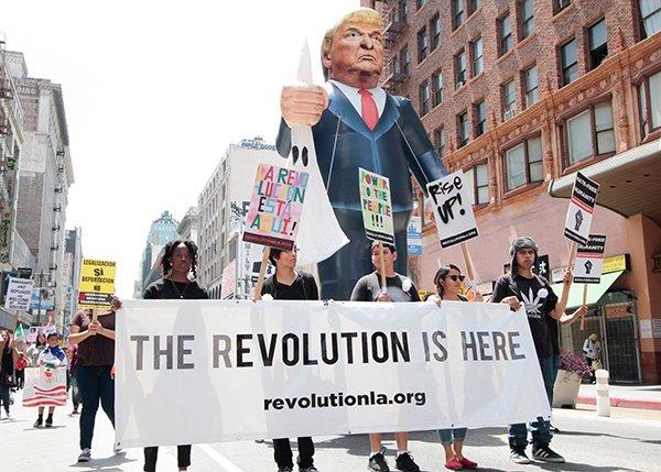 collectivism | anti-Trump protest