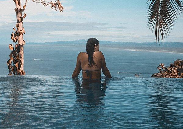 high price | woman at pool