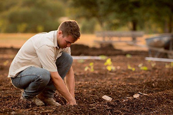 purpose work | man on farm