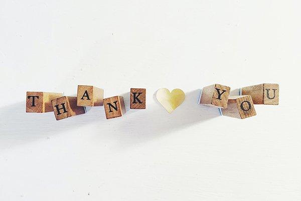thank you | gratitude