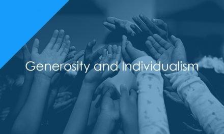 Generosity and Individualism