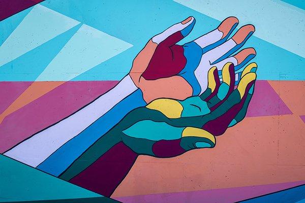 generosity | hands palms up