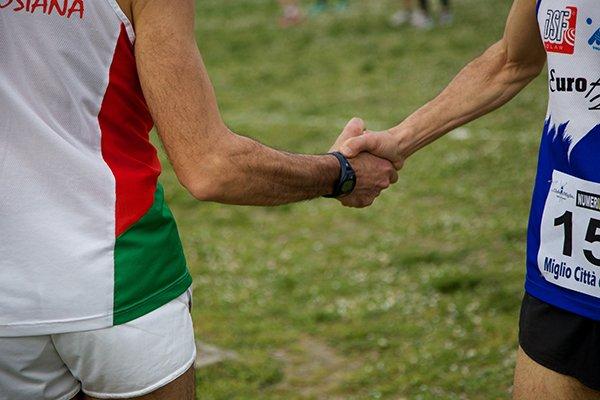 sportsmanship | players shaking hands