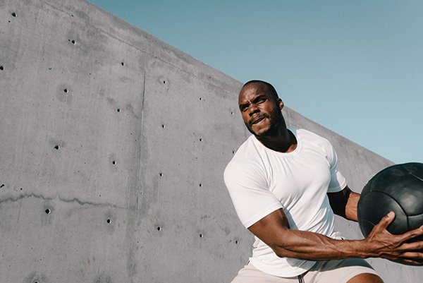 competition progress | man exercising