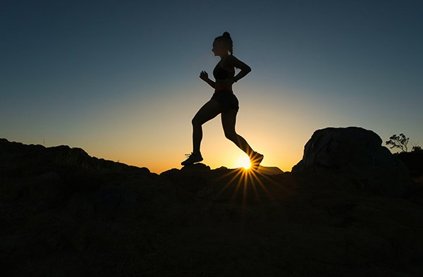 self-competition | woman jogging