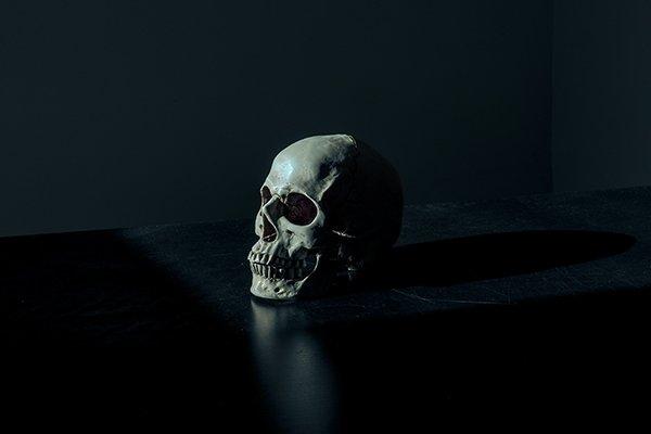 death is inevitable | skull