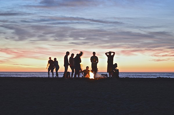 value relationships | friends bonfire