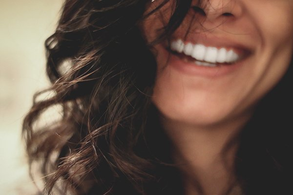 be virtuous be happy | woman smiling