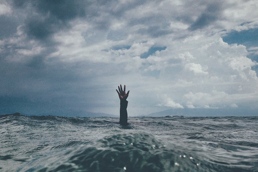 Drowning | Man in water