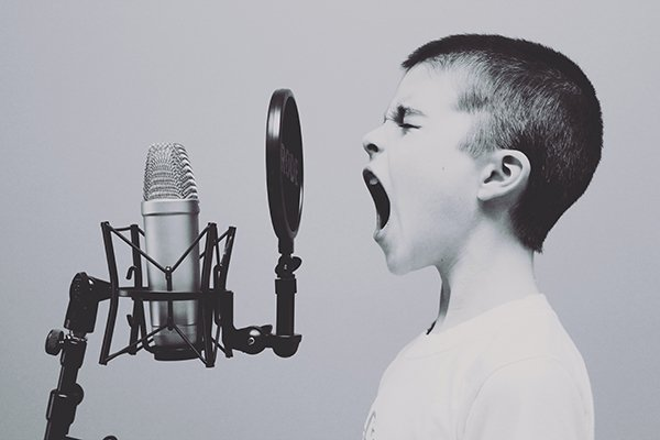 Win every battle against yourself | boy screaming into mic