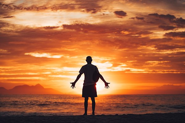 individualism | man uplifted