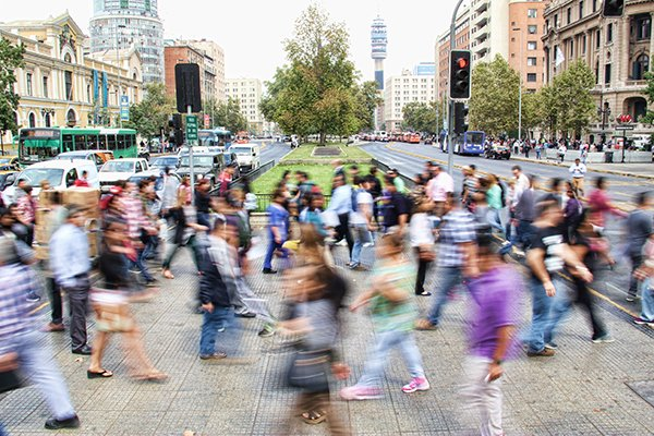 community | people walking