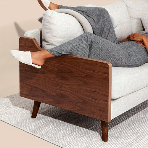 Comfort | Woman lying on couch