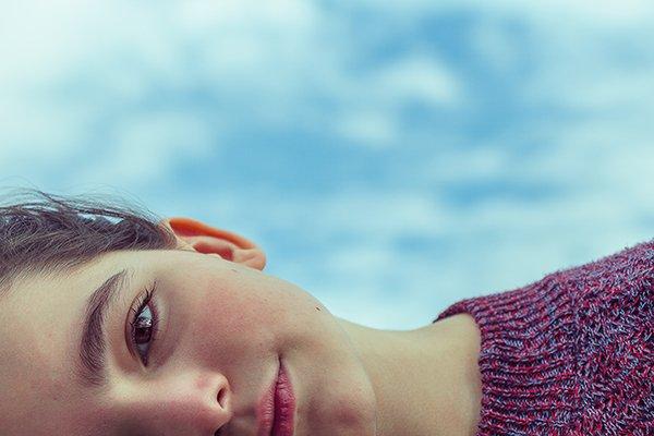 emotional control | woman smiling