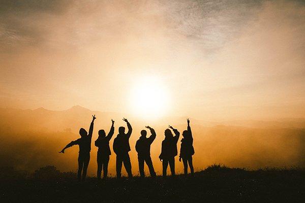 higher value | friends jumping