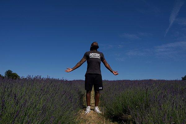 keep flying | man looking up