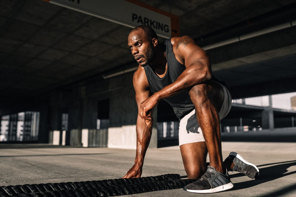 Strong individual | Man working out