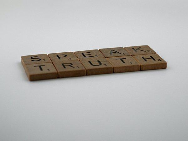 Speak Truth Tiles
